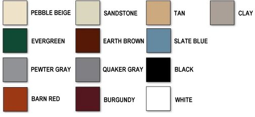Carport Color Options