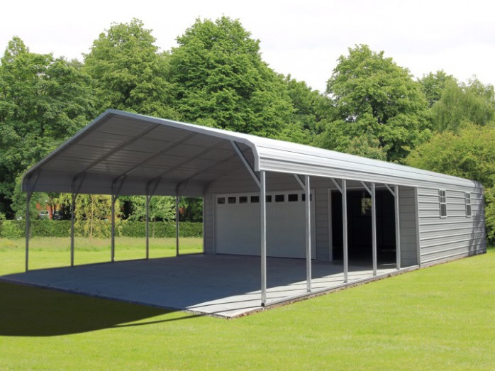 How To Build 3 Car Carport With Storage In 7 Easy Steps With Pictures