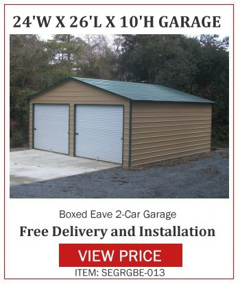 Metal Garages And Carports In A Ga Georgia Garages For Sale
