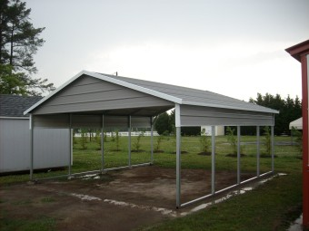 Boxed Eave Carports | Metal A-Frame Carports