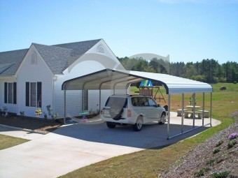 Carport | Regular Roof | 18W x 21L x 6H
