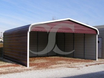 Carport | Regular Roof | 20W x 21L x 7H