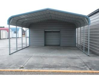 Carport | Regular Roof Roof | 18W x 26L x 7H Utility Carport