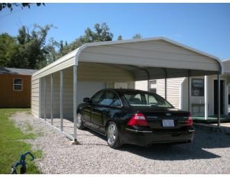 Carport | Regular Roof Roof | 18W x 26L x 7H Utility Carport Combo