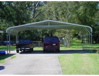 Carport | Regular Roof | 30W x 26L x 8H | Triple Wide