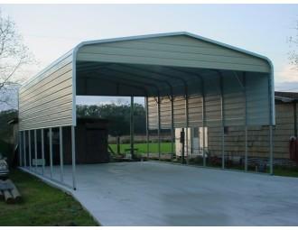 Carport   Regular Roof   22W x 36L x 11H`   4 Panels   2 Gables
