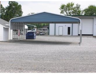 Carport | Regular Roof | 30W x 31L x 8H | Triple-Wide