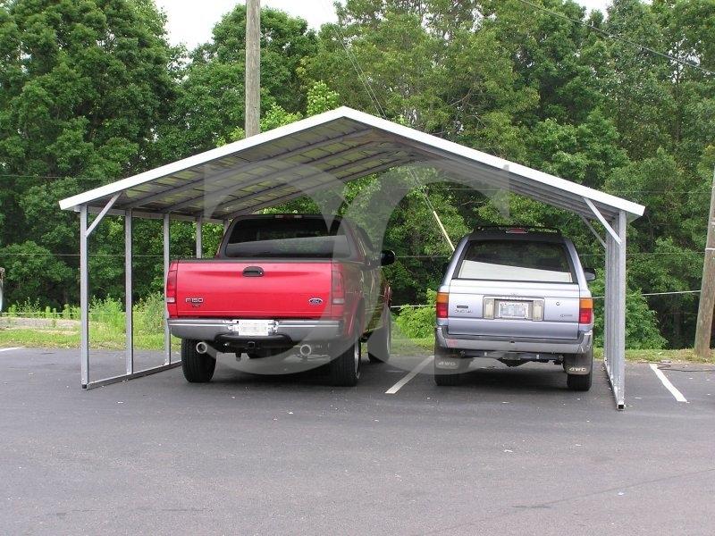 18 21 Carports : Carport boxed eave roof w l h