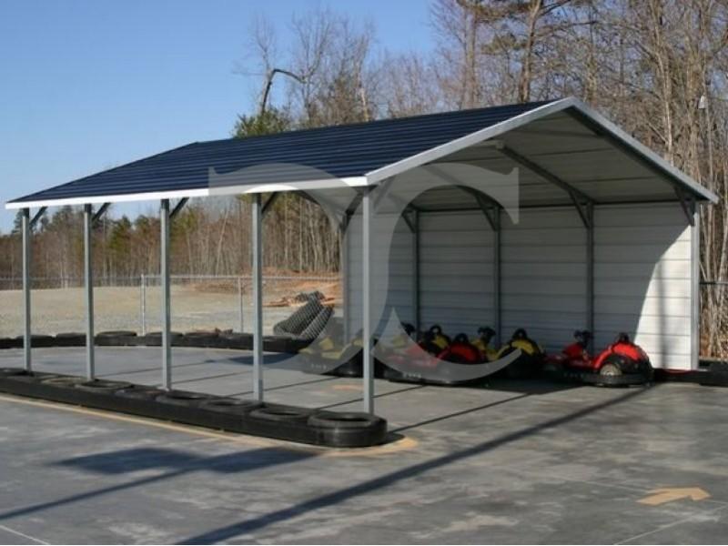 Carport Boxed Eave Roof 20w X 21l X 7h