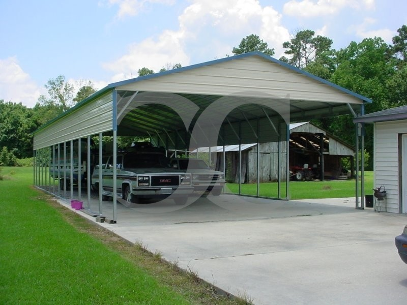Rv Metal Carport Panels : Carport vertical roof w l h panels