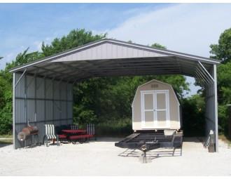 Carport | Vertical Roof | 30W x 26L x 12H Triple-Wide