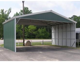 Carport | Vertical Roof | 30W x 21L x 10H Triple-Wide