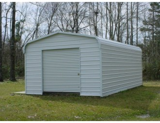 Garage | Regular Roof | 12'W x 21'L x 8`H |  Single Car Garage