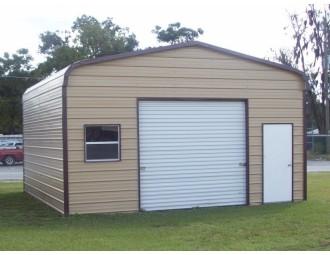 Garage   Regular Roof   18W x 21L x 9H    Single Car Garage