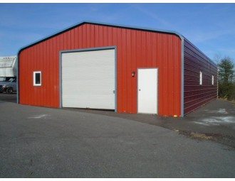 Garage | Regular Roof | 24W x 36L x 10H |  Metal Garage