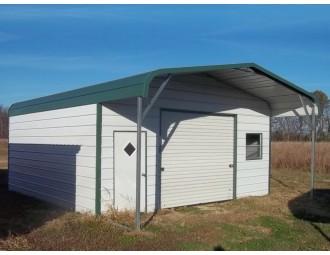 Garage | Regular Roof | 22W x26 L x 8H |  Enclosed Garage with Porch