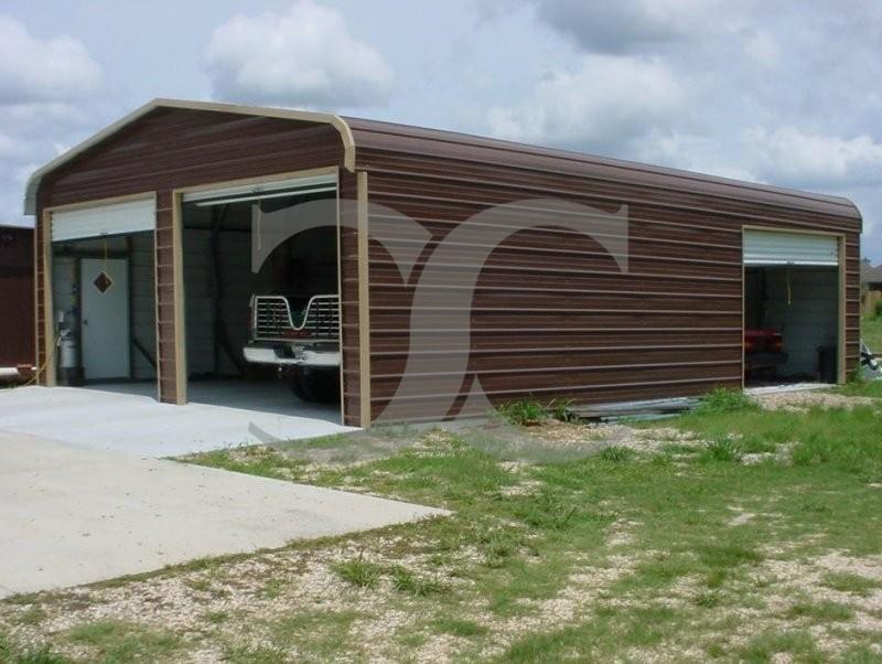 Product Car Garages : Garage regular roof w l h car metal