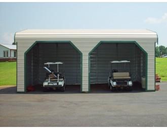 Garage | Regular Roof | 22W x 26L x 9H |  2-Car Side Entry Garage
