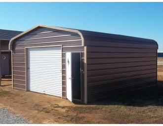 Garage | Roof | 18W x 21L x 7H |  1-Car Garage