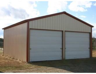 Garage | Vertical Roof | 22W x 26L x 9H |  All Vertical Garage