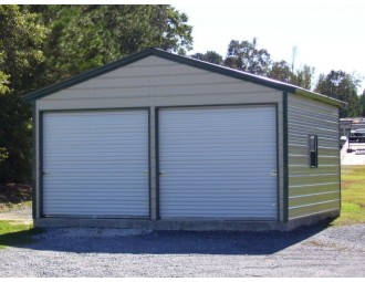 Garage | Vertical Roof | 20W x 21L x 9H |  Copy