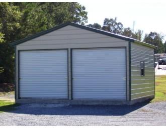 Garage | Vertical Roof | 20W x 21L x 9H |  Copy