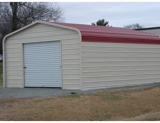 Garage | Regular Roof | 12W x 21L x 8H | Single Car Garage