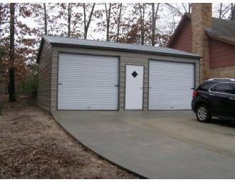 Side Entry Garage   Vertical Roof   22W x 26L x 9H    2-Car