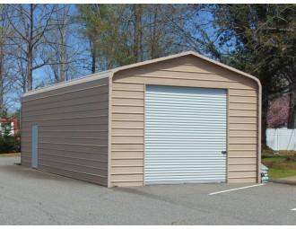 Garage | Regular Roof | 18W x 31L x 10H | Metal Garage