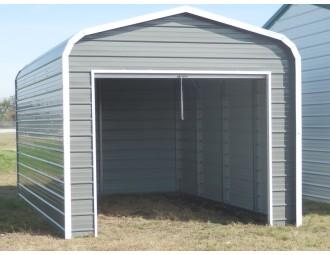 Single Garage | Regular Roof | 18'W x 21'L x 7`H |  1-Car